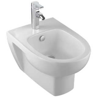 ODÉON UP BIDET SUSPENDU SEMI-CARÉNÉ