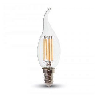 Ampoule chandelle LED filament